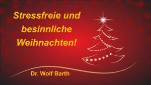 Stressfreie und besinnliche Weihnachten